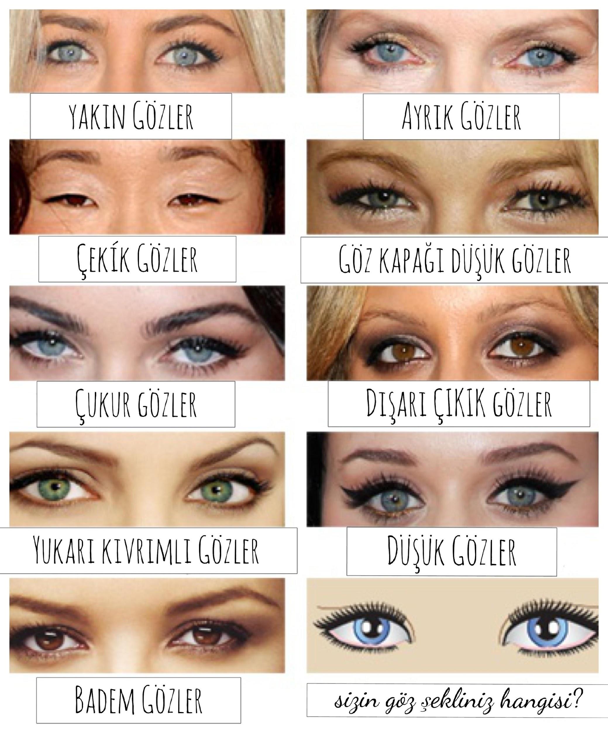 Çukur Gözler İçin Makyaj Teknikleri Nelerdir